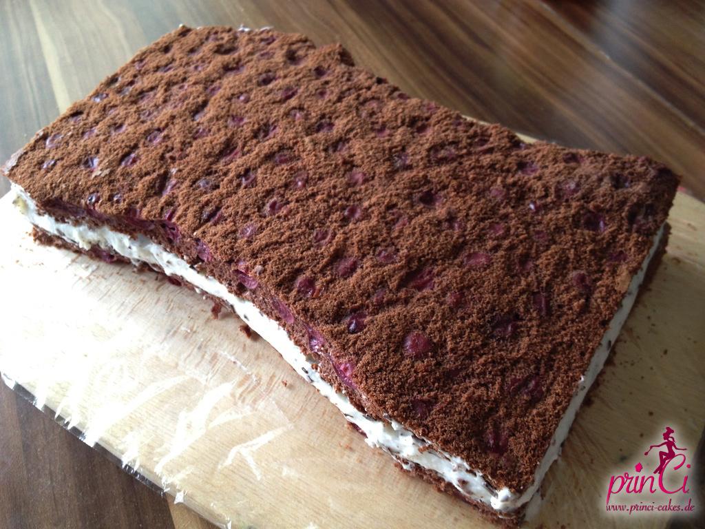 Backwahn Frankreich Torte Mit Stracciatella Creme Princi Cakes