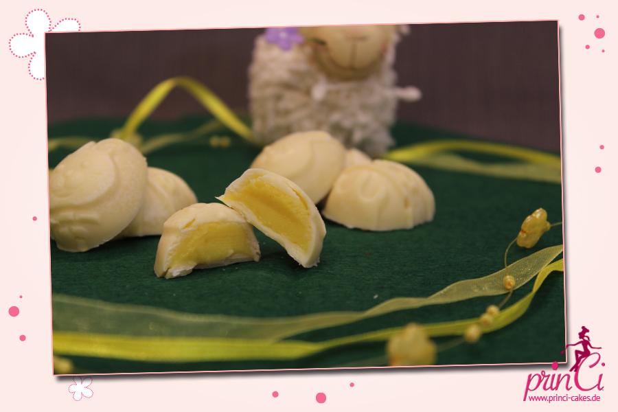 Mango-Lassi-Pralinen - Eiersuche