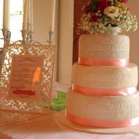 Vintage Hochzeitstorte