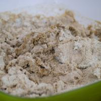 5-Korn-Brot mit Haferflocken und Vollkornmehl