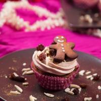 Cupcakes mit Mandelmuß