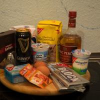 Irish Bomb Torte mit Guiness und Whisky