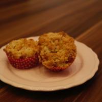 Rezept schnelle Rhabarber Muffins