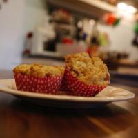 Rhabarber-Streusel-Muffins für Muttertag