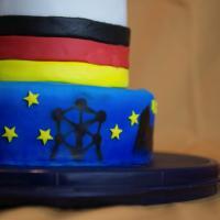 Europa Torte - Deutscher Backtag Wir mitten in Europa