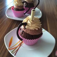 Iced-Coffee Cupcakes