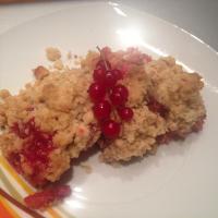 Stachelbeer Crumble - Streuselkuchen