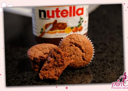 Nutella-Banananen Muffins