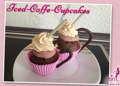 Iced-Coffee Cupcakes