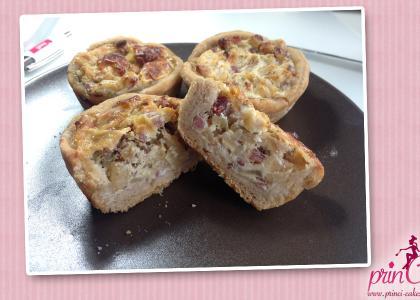 Zwiebelkuchenmuffins