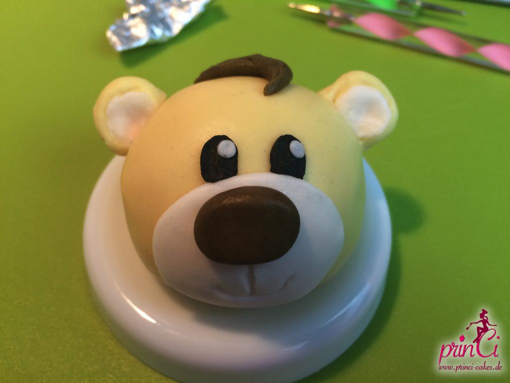 Süßer Teddybär aus Zucker Anleitung