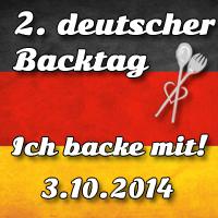 2. deutscher Backtag : Deutschland backt zusammen!