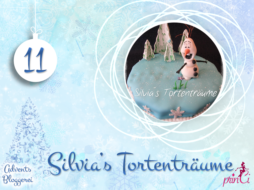 Adventsbloggerei: Nr. 11 - Silvia's Tortenträume