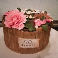 Geburtstagstorte Blumen