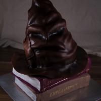 Sprechender Hut - Harry Potter Torte
