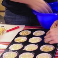 Knusper Muffins mit Apfel vegan
