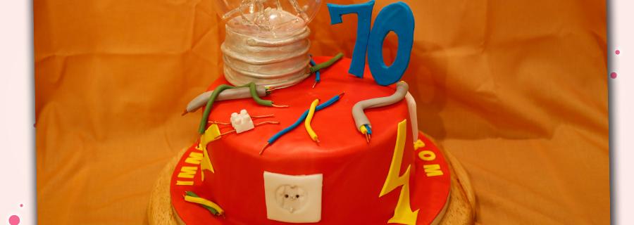Torte für Elektriker