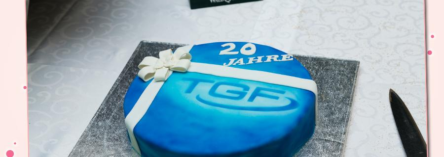 Firmenjubiläum Torte