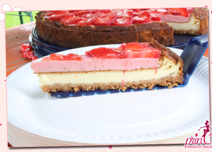 New York Strawberry Cheesecake