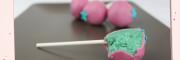Zitronen Cakepops