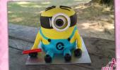 Minion Torte 3D
