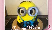Minion 3D Torte Anleitung