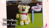 Tutorial Fondant Anleitung Teddy