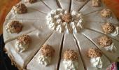 Baileys-Giotto Torte Stücken